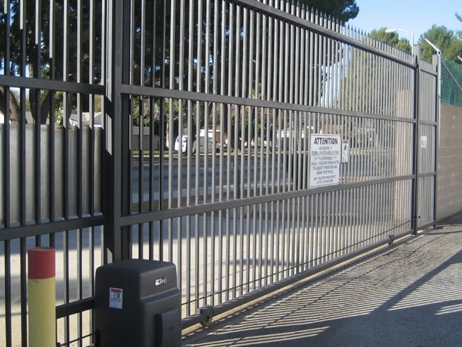 Gate-Access-Control